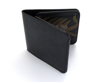 Leather Wallet /  Men's Leather Wallet  / Leather Card case  - Fern (Exclusive Range)