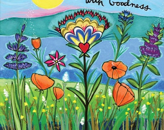 Greeting Card : Grounded in Goodness