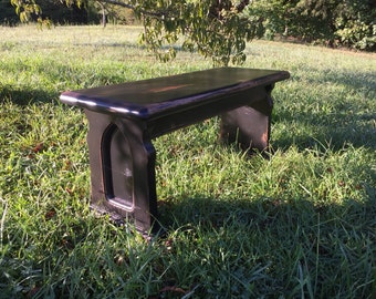 """48"""" Backless Church Pew / Bench"""
