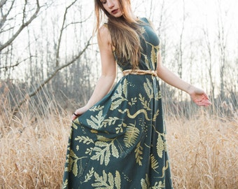 Ephemera Maxi - Organic Fabric - by Simka Sol®