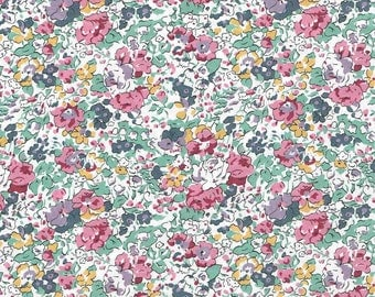 Liberty Fabric  Tana Lawn One Yard Claire Aude C