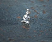 Sitting Buddha Sterling Silver Charm