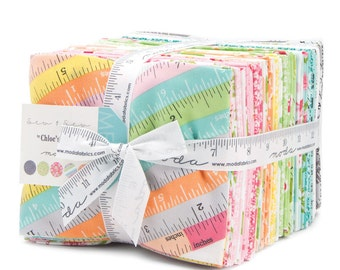 SPRING SALE - In Stock - Sew and Sew - Fat Quarter Bundle (36) - by Chloe's Closet for Moda Fabric