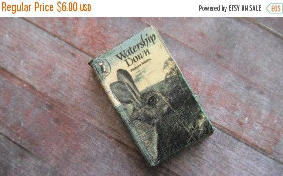 ON SALE Miniature Book --- Watership Down