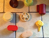 RESERVED Vintage Tupperware Magnet Set
