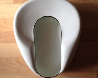 Enamelware Bed Pan