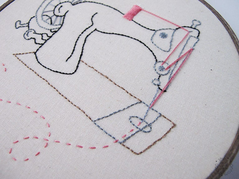 sewing machine embroidery hoops