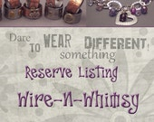 Custom Reserve Listing for amikaortiz