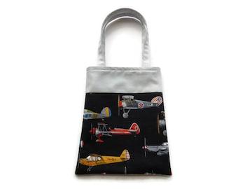 Airplane Gift Bag - Goodie Bag - Mini Tote
