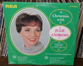 Christmas With Julie Andrews Vintage Vinyl Record
