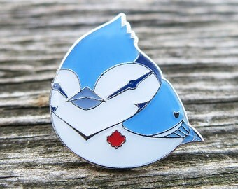Blue Jay Lapel Pin