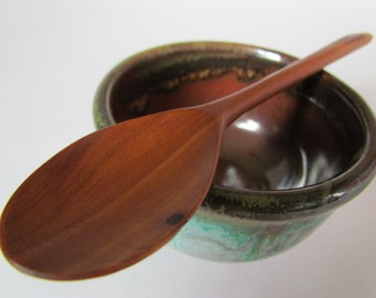 Reclaimed Mountain Mahogany Hand Crafted small tasting spoon