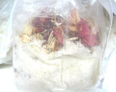 Rose Milk Bath Soak - Tub Tea - Natural Organic ingredients- Perfect little thank you gift