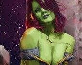 Gamora of Thrones