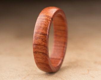 Size 11 - Mopani Wood Ring No. 122