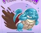 Puke-A-Mon: Squirt-a-turdle