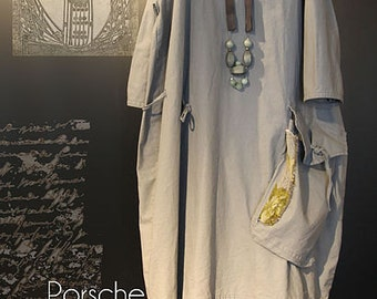 Porsche Tunic TG-A7075 Sewing Pattern by Tina Givens- Lagenlook Style! Sz. XS-2X