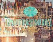 Candy, candy Shop, sweet tooth, carnival color, disney, pink candy, shop window, sugar art, children, kitchen, kitsch, sweet art photograph