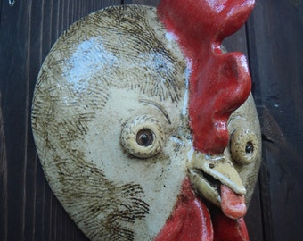 Chicken Little Ceramic Mask