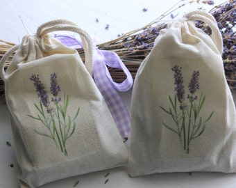Lavender Sachets - Pure Lavender Buds 1/2 Cup Bag