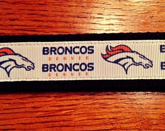 Broncos Key Fob Keychain
