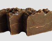 Pine Tar Soap, Cold Process Pine Tar Soap with Tea Tree Oil, CP Soap, Handmade Soap, Artisan Soap, Vegan Friendly, All Natural Soap