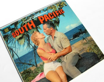 Vintage South Pacific Record Album Original Soundtrack Recording