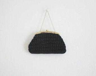 VACATION SALE. 1960s secret garden bag