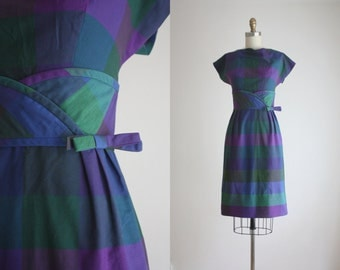 1960s apple picking dress