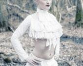 uk 14 -16 short cream cotton bloomers pantaloons shorts gothic lolita goth victorian steampunk morigirl mori girl  shorts burlesque