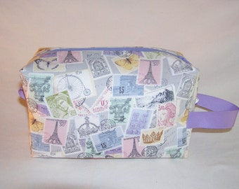 French Stamps Midi Bag