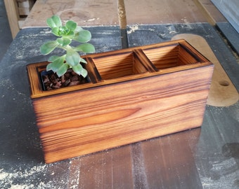 Contemporary Rustic Planter