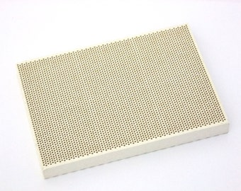 Medium Sized Honeycomb Ceramic Soldering Block