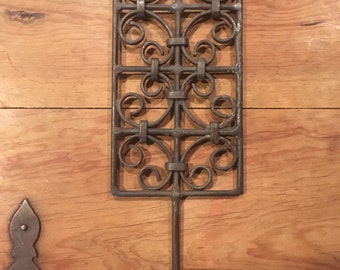 Morrocan iron candle sconce