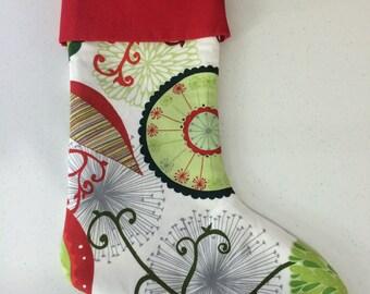 Christmas Stocking, Valori Wells' fabric, hand-made, fully-lined Christmas Stocking