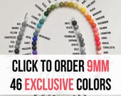 10 - 9 mm Silicone Beads - Seamless Silicone Beads in 86 Colors - 46 Exclusive Colors