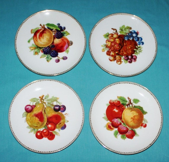 Fruit Plate Wall Decor Fruit Wall Plate Ceramic Kitchen Clock Kitchen