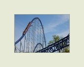 Millennium Force Roller Coaster at Cedar Point Amusement Park 5x7 print with 8x10 mat