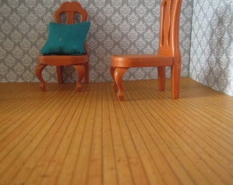 1/12 and 1/24 Scale Downloadable Printable Dollhouse Floor or Wall