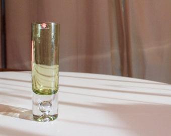 Tapio Wirkalla small green bubble vase for iittala....