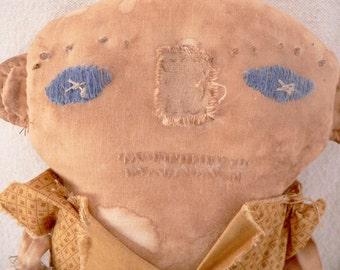 Boy Doll, Primitive Doll, Prim Doll, Primitive Decor, Primitives, Home Decor, Prim Decor, Prim, Folk Art Doll, Art Doll, Prims, HAFAIR
