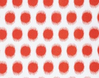 Dena Designs  Butterfly Garden - Ikat Dot - PWDF229  RED 1 Yard Cut