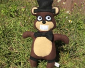 FREDDY Five Nights at Freddy's Plush parody- IN STOCK