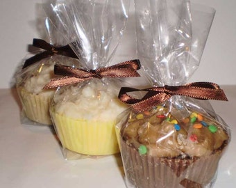 ONE Cupcake Tart with Whipped Frosting - your choice of fragrance - SOY WAX