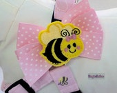 Quick and Comfy Bee Happy Step In Dog Harness Size XS through Medium by Doogie Couture