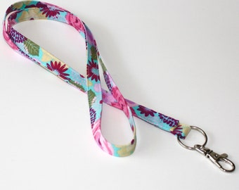 May Flowers ID badge holder