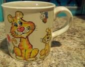AdOrAbLe  big and smaller tigers mug children s   japan