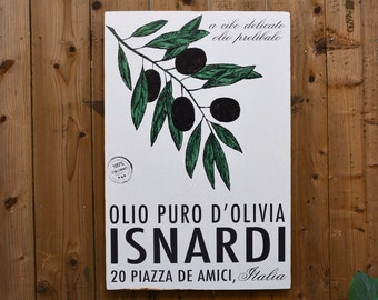 OLIVE OIL - 24x36 - wall art - Rupiper Designs Original