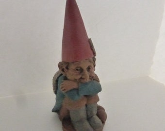 Vintage Cairn Studio Tom Clark Gnome Clarence a Guardian Angel with Shell Wings