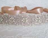 Pearl Crystal Rhinestone Bridal Sash,Bridal sash,Wedding sash,Bridal Accessories,Wedding Accessories,Bridal Belt,Style #3
